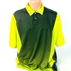 Nike Tiger Woods Collection Mens Dri Fit Neon Golf